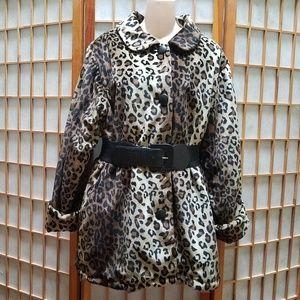 Jackets & Blazers - Reversible Leopard Print Jacket Sz M/L